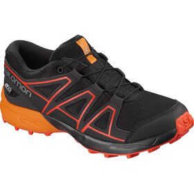 Salomon Speedcross CSWP Shoes Junior Black/Tangelo/Cherry Tomato